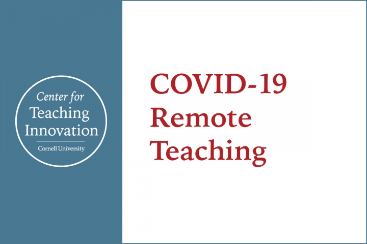 Preparing for Alternative Course Delivery during Covid-19