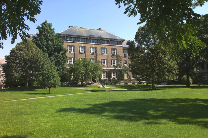 Ag Quad in Summer
